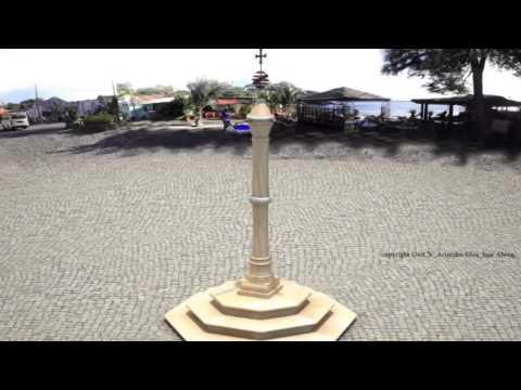 Cabo Verde Cidade Velha Pelourinho 3D