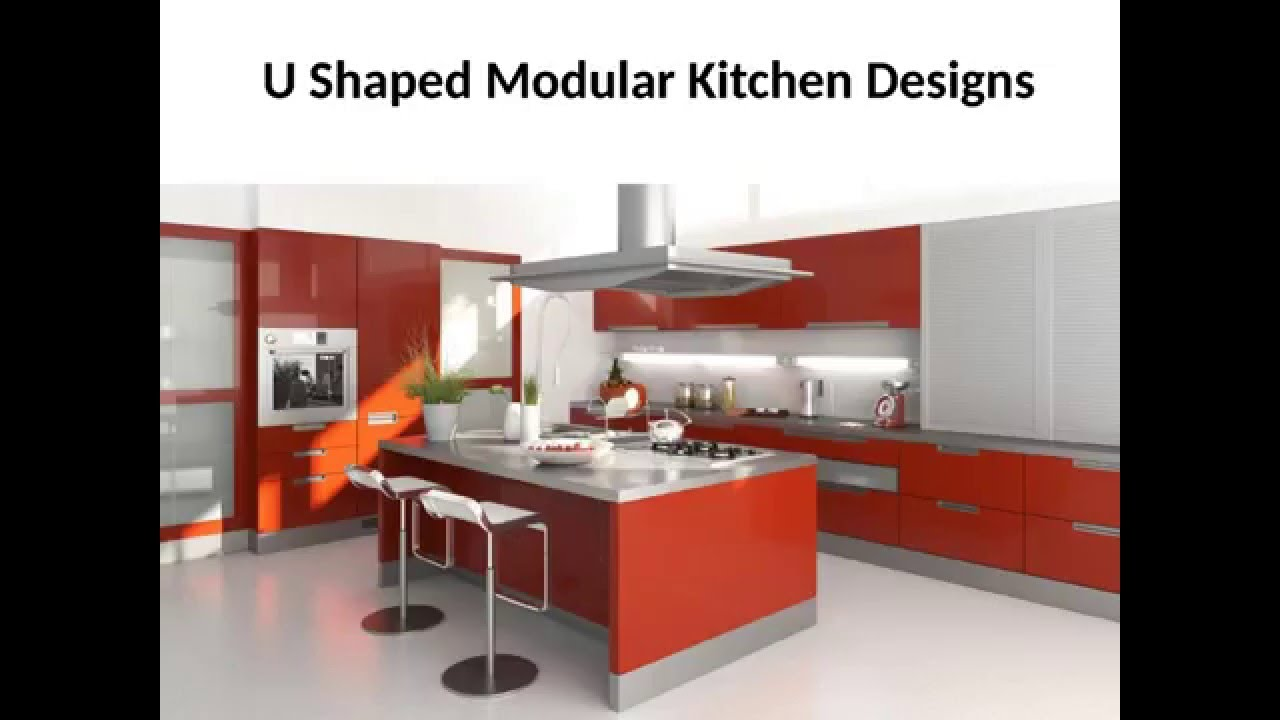 How to u shaped modular kitchen design gives new for Sample modular kitchen designs