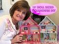 American Girl Doll Sized Dollhouse DIY