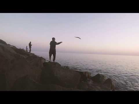 Early morning Shore Jigging in fujairah