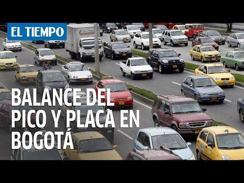 Balance del pico y placa en Bogotá | EL TIEMPO