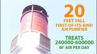 New Delhi gets its first smog tower