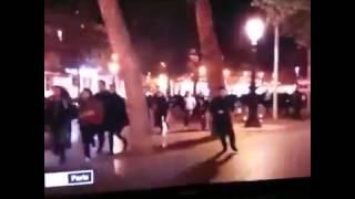 Люди в панике бегут с площади Республики в Париже  Новости Франции, Сирии, России, Украины, США