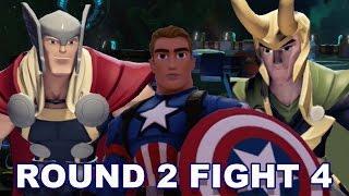 Di3.0 Thor vs 1st Avenger vs Loki - Ai Championship Round 2 Fight 4