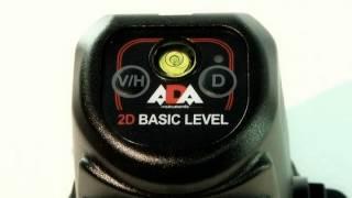 Видео обзор лазерный уровень  ADA 2D Basic Level(Лазерный уровень ADA 2D Basic Level — это простой и доступный линейный лазерный нивелир, предназначенный для..., 2014-06-06T13:44:25.000Z)