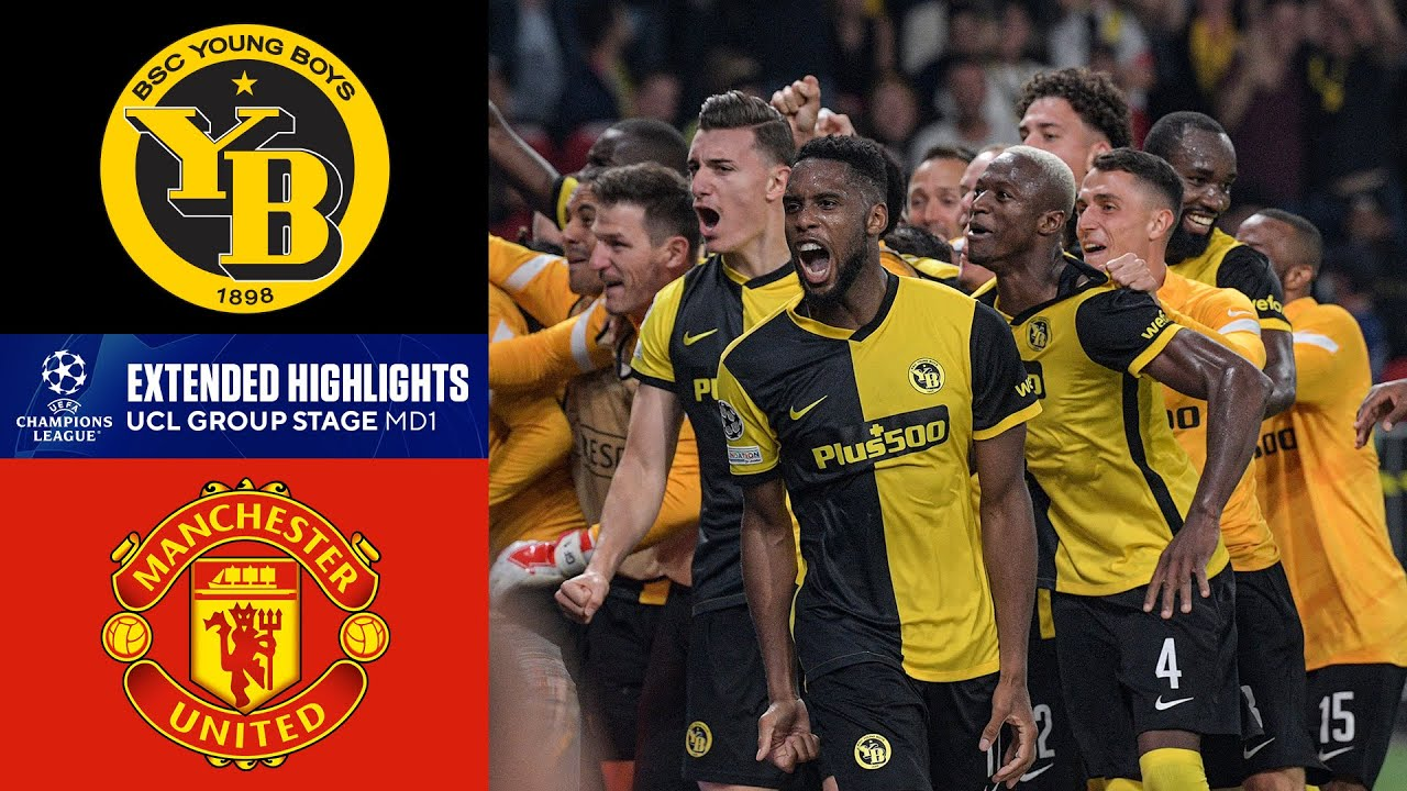 Young Boys vs. Manchester United: Extended Highlights   UCL ...