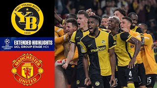 Young Boys vs. Manchester United: Extended Highlights | UCL Group Stage MD 1 | CBS Sports Golazo