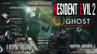 Resident evil 2 Remake DLC Let's Play | The Ghost Survivors | No Way Out LiveStream 1