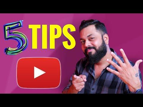 Starting A Youtube Channel?? ये ५ महत्त्वपूर्ण चीज़ें जरूर याद रखना + My Gear