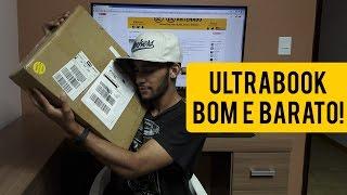 Comprei um ultrabook BOM E BARATO, o maior unboxing da minha vida!