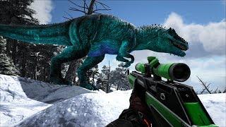 ARK: Eternal Mod #28 - Khủng Long Bạo Chúa Giganotosaurus Prime, Mình bắt được rồi nè ^^