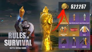Over 500k Coins Spent Trying To Pull The Chicken Trophy - Did I Get Scammed? - Rules of Survival