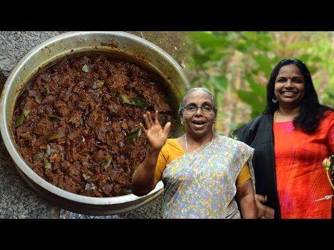 വിറകടുപ്പിൽ നാടൻ  ബീഫ് ഉലർത്തിയത് |Kerala Beef Ularthiyathu|Christmas Special
