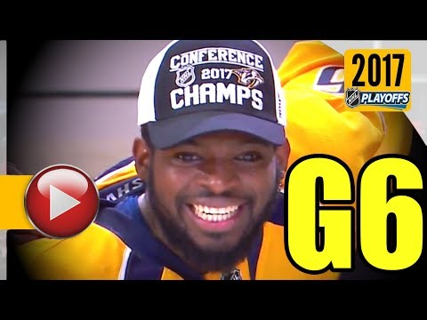 Anaheim Ducks vs Nashville Predators. NHL 2017 Playoffs. Western Conference Final. Game 6. (HD)