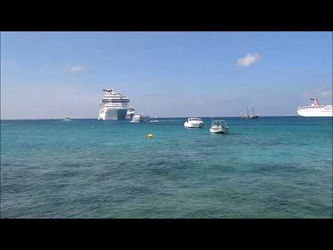 A Day in George Town, Grand Cayman Islands (December 2017)