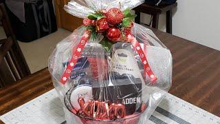 #christmasgift #giftbaskets #christmasbasket DIY Christmas Gift Basket For Him🎁