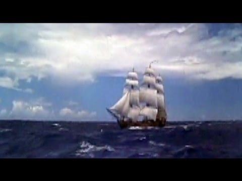 Hurricane Sandy: replica of HMS Bounty abandoned at sea