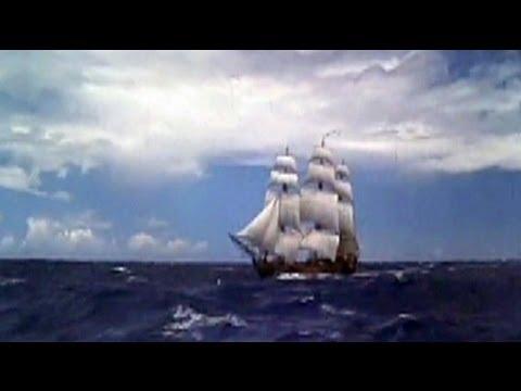 Hurricane Sandy: replica of HMS Bounty abandoned at sea