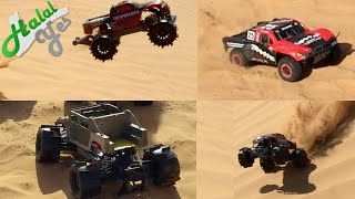 World's Biggest Aerial R/C Assault 2 - Traxxas Invades Wahiba Sands in Oman!