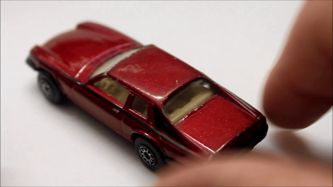 Jaguar Xjs Scale Model Hotwheels Matchbox Toy Car Youtube