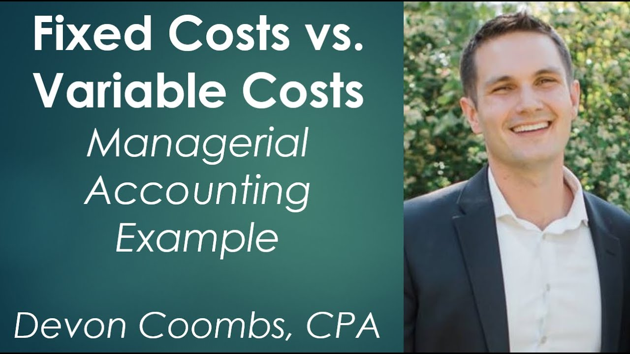 explain how to balance fixed and variable costs For example, a product might have variable costs of $4 and fixed costs of $1 q&a related to absorption costing and variable costing.