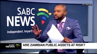 Reports that China is set to take over Zambia