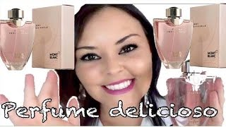 Perfume femme individuelle mont blanc Resenha #VEDA1