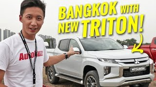 2019 Mitsubishi Triton pickup truck tested in Bangkok - AutoBuzz.my