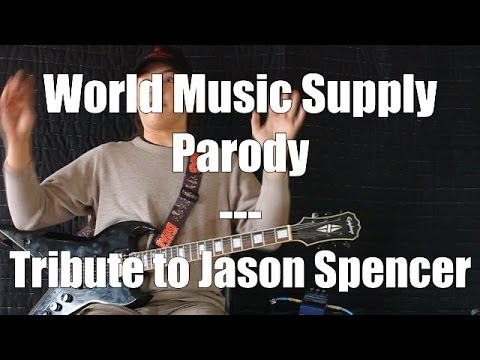 World Music Supply Parody - Jason Spencer has had enough!