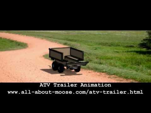 Atv Trailer Plans Tub Trailer Youtube
