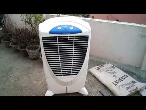 Symphony Air Cooler Repair Through Cooling Pad Replacement in Hindi