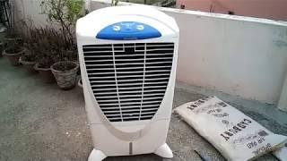 Symphony Air Cooler Repair Through Cooling Pad Replacement in Hindi