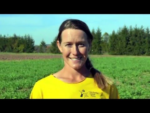 Jessica Niederer, the 2016 New Jersey Outstanding Young Farmer