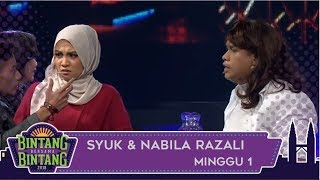 BBB (2018) | Minggu 1 | Shuk & Nabila Razali