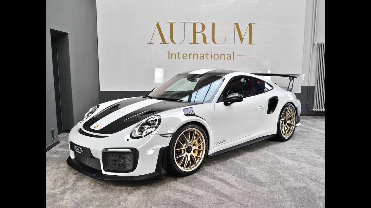 Porsche 911 991 Gt2 Rs Weissach White Red Walkaround By Aurum International Youtube