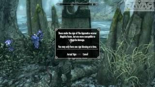 Skyrim - As bençãos das 13 Pedras l Localização e efeitos