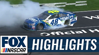 Jimmie Johnson Grabs First Win of the Year | 2017 TEXAS | FOX NASCAR