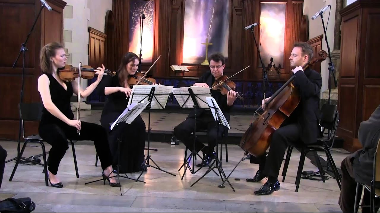 Benjamin Britten - String Quartet No. 2 (1st Movement) - Badke Quartet