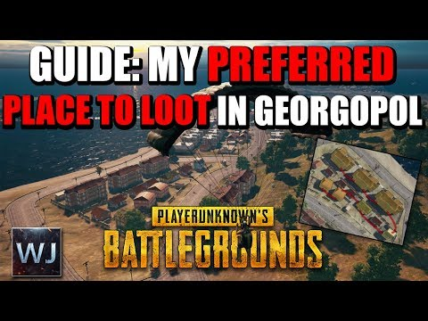 GUIDE: My preferred PLACE TO LOOT in Georgopol (Loot Route) - PLAYERUNKNOWN's BATTLEGROUNDS (PUBG)