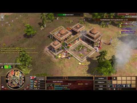 Age of Empires III Multiplayer - 2vs2 mit Vertrag #1 [Deutsch/Full HD]