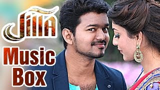 Jilla tamil movie audio music box featuring vijay, kajal aggarwal and mohanlal. directed by r t neason, composed imman. was released worldwide...