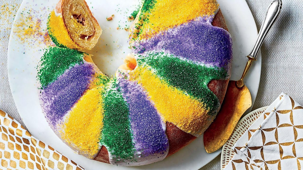 Cream Cheese King Cake Recipe Southern Living