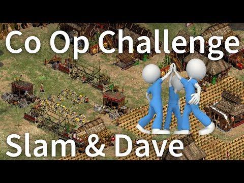Funny Co-Op Challenge! Episode #1 [Slam + Dave]