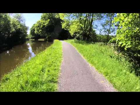 Cycling the Leeds & Liverpool Canal - Burnley to Barrowford