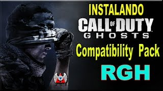 Instalando.Compatibility  Pack.Call of Duty Ghosts.RGH