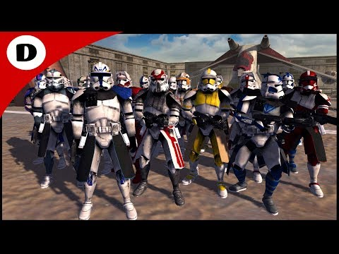 ALL CLONE COMMANDERS AMBUSHED BY GRIEVOUS - Men of War: Star Wars Mod