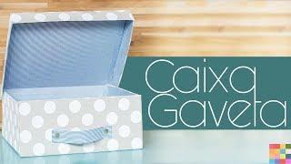 DIY- Caixa Organizadora 14 | Caixa de sapato vira caixa para Closet ou Decoração