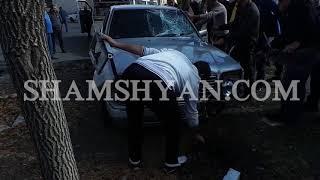 Արտակարգ դեպք Աբովյանում  28 ամյա վարորդը Mercedes ով վրաերթի է ենթարկել ամուսիններին