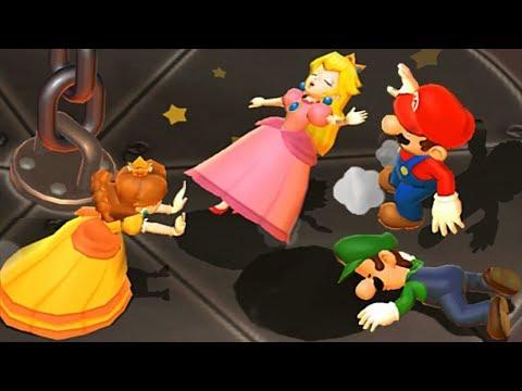 Mario Party 9 Garden Battle - Peach vs Daisy vs Wario vs Mario Master Difficulty Nintendo Games