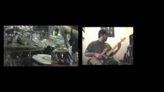 Sparta - Breaking The Broken Bass & Drum Cover